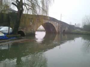 Ha'penny Bridge, Lechlade and River Thames