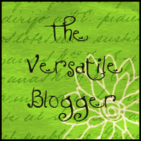 Versatile Blogger Award logo green